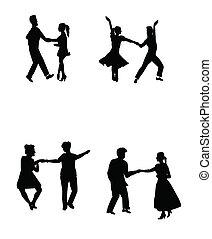 tutta stella, ballerini