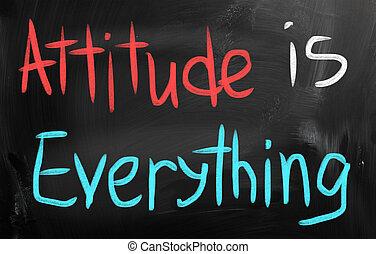tutto, atteggiamento
