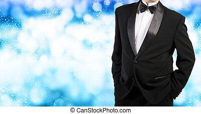 Tuxedo. Holiday Christmas