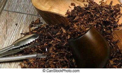 tuyau, cigarette, tabac