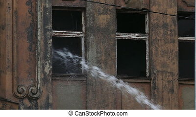 tuyau eau, ruisseau, fireman's