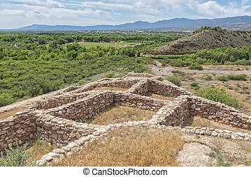 Tuzigoot Indian Ruins - Tuzigoot National Monument In ...