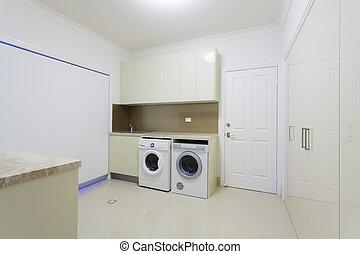 tvättinrättning rum