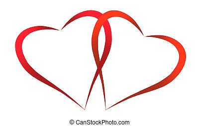 två hjärtan