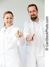 två, läkare, professionelle