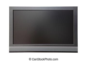 tv, écran large, lcd