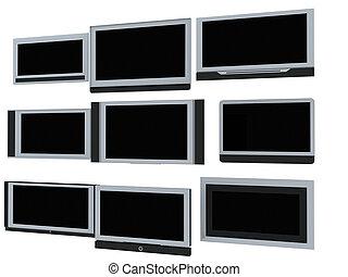 tv, écrans