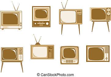 tv αναθέτω , retro
