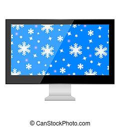 tv, ∥で∥, クリスマス, 背景