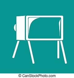tv, アイコン