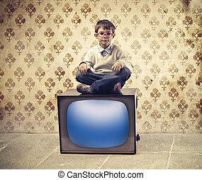 tv, 子供