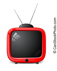 tv, 流行, ベクトル