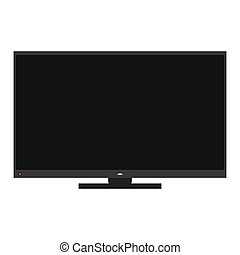 tv, 現代, アイコン