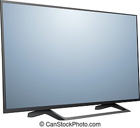 tv, 現代, 3d