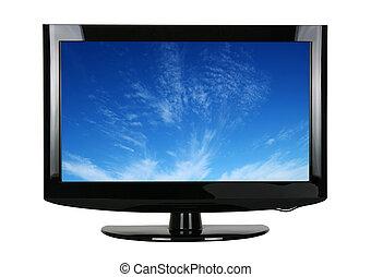 tv, 白