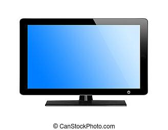 tv, 青スクリーン, 現代