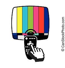tv, amusement