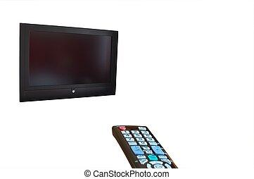 TV and remote control