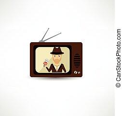tv, atti, effire, diretto, giornalista