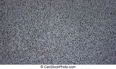 tv bad signal noise interference screen the television - tv...