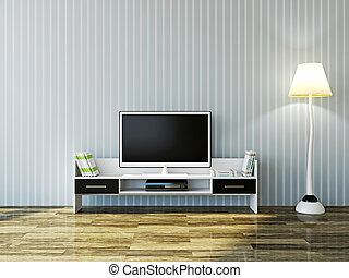 tv, branca