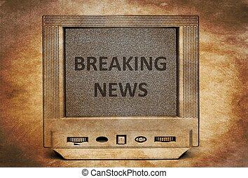 TV breaking news