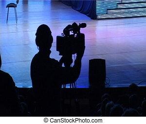 TV Cameraman  - TV Cameraman
