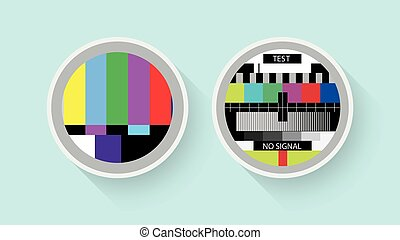 Tv colour test