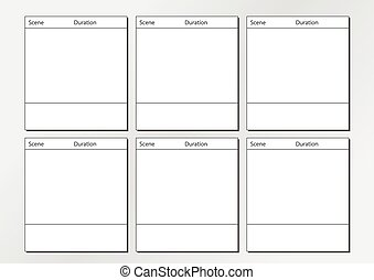 Tv commercial frame storyboard template x6 professional of tv commercial storyboard template x6 professional of film storyboard template for easy to present the process of story saigontimesfo