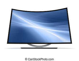 tv, curva