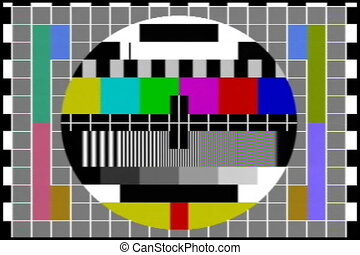 tv, -, diagramme, essai, audio, ntsc