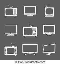tv, divers, icônes