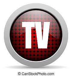 tv glossy icon