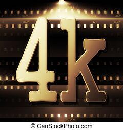 tv, haute resolution, 4k