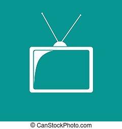 tv, icône