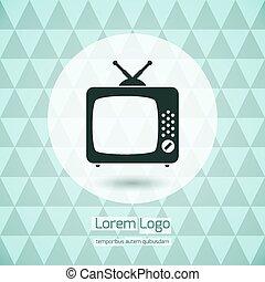 TV icon logo