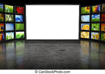 tv, images, screeen