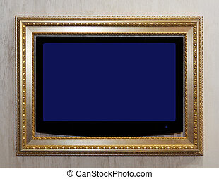 TV in frame