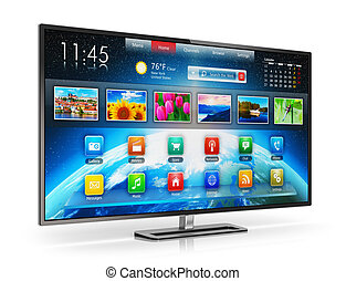 tv, intelligent