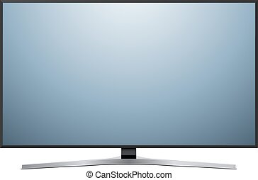 TV isolated on white