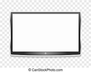 tv, lcd, modernos