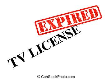 TV License EXPIRED