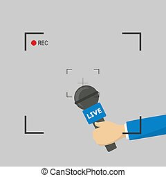TV live report.