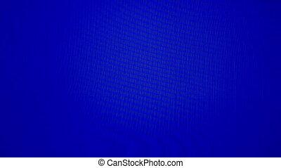 Blue screen  Shimmering, blue tv screen
