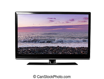 Tv monitor with the picture