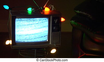 tv, noël, boucle, mdm