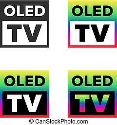 tv, oled, シンボル