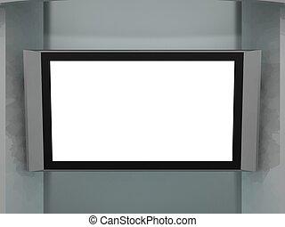 tv, plazma