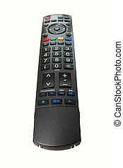 TV Remote Control isolated with clipping path.