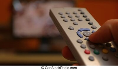 TV Remote Control - Using remote control for switching...